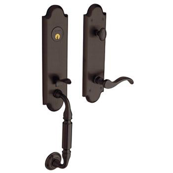 Baldwin 85350.112.RFD Manchester Emergency Exit Right Dummy Hand Handleset - Venetian Bronze