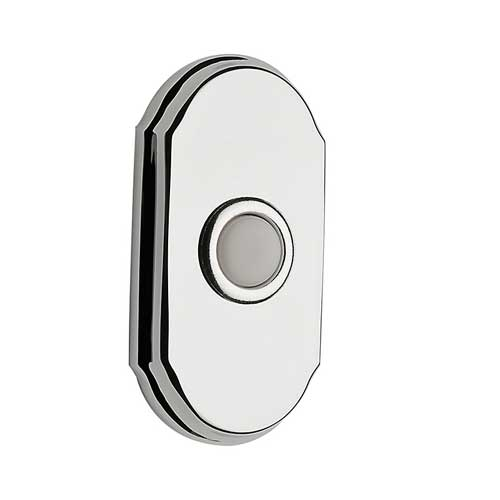 Baldwin 9BR7017-003 Wired Arch Bell Button - Chrome