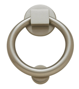 Baldwin 0195150 Ring Door Knocker - Satin Nickel