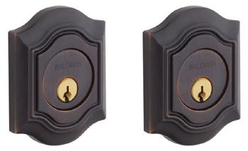 Baldwin 8238112 Bethpage Double Cylinder Deadbolt - Venetian Bronze