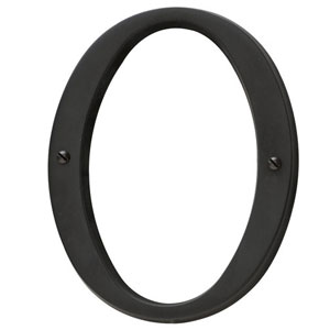 Baldwin 90670.102 House Number 0 - Oil Rubbed Bronze