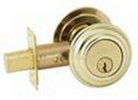 Baldwin 98232003 Double Cylinder Deadbolt - Lifetime Polished Brass