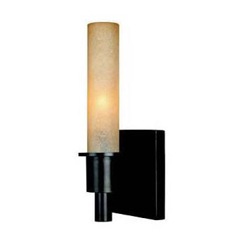 Belle Foret BF782188 Contemporary/ Modern 1 Light Wall Sconce - Oil Rubbed Bronze
