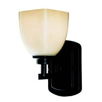 Belle Foret BF858188 Bath Lighting One Light Sconce - Oil Rubbed Bronze