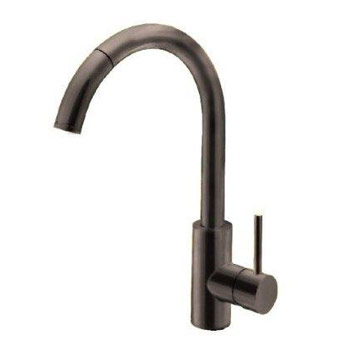 Belle Foret BF403ORB Single Handle Pull-Out Kitchen Faucet - Oil Rubbed Bronze