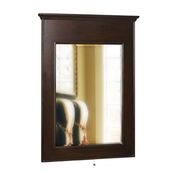 Belle Foret BF80018 Single Mirror - Espresso