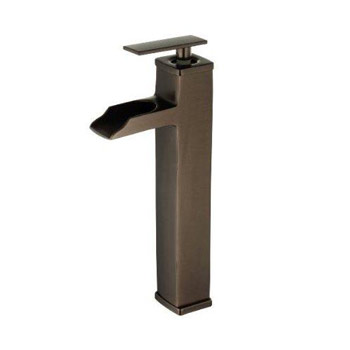 Belle Foret L200-ORB Single Handle/Hole Open Spout Lavatory Faucet - Oil Rubbed Bronze