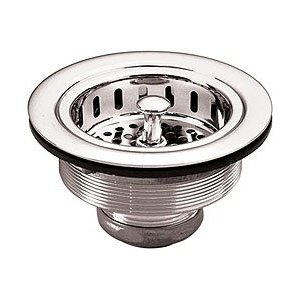 Belle Foret NKBS1CP Kitchen Basket Strainer - Chrome