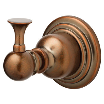 Belle Foret NRHTB Robe Hook - Tumbled Bronze