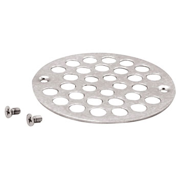 Belle Foret NSD01TB Shower Strainer with Screws - Tumbled Bronze (Pictured in Chrome)