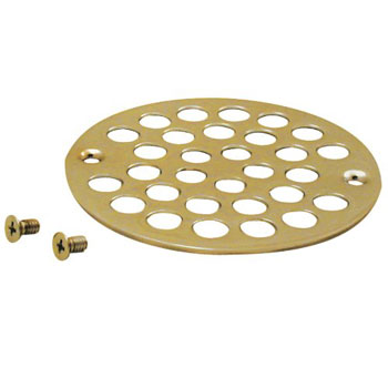 Belle Foret NSD01PB Shower Strainer with Screws - Polished Brass