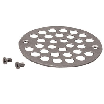 Belle Foret NSD01SN Shower Strainer with Screws - Satin Nickel