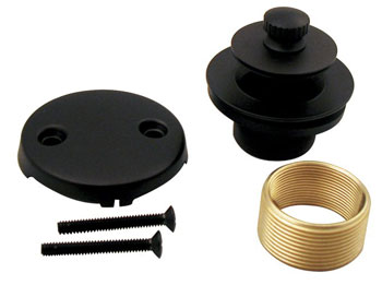 Belle Foret NTDCK1TB Lift and Turn Bath Waste Conversion Kit - Tumbled Bronze (Pictured in Oil Rubbed Bronze)
