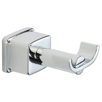 Belle Foret RH400CP Double Robe Hook - Chrome