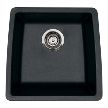 Blanco 440079 Performa Silgranit II Single Bowl Kitchen Sinks Undermount - Anthracite