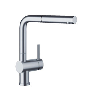 Blanco-441196-Linus-Pullout-Kitchen-Faucet---Chrome-(Pictured-in-Satin-Nickel)