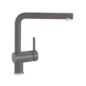 Blanco Sinks And Faucets : Blanco 441198 Linus Pullout Kitchen Faucet - Cafe Brown - FaucetDepot ...