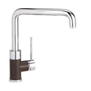 Blanco 441203 Purus I Single Handle Kitchen Faucet - Cafe Brown Mix