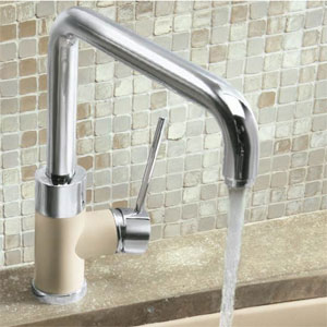Blanco 441205 Purus I Single Handle Kitchen Faucet - Biscotti Mix