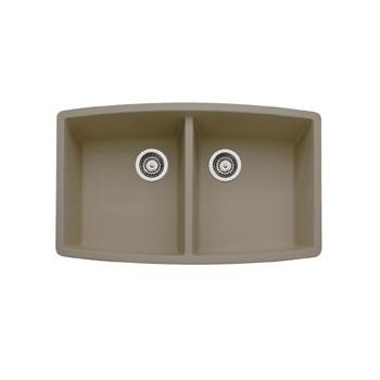 Blanco Truffle Sink : Blanco 441290 Performa Silgranit II Double Bowl Kitchen Sink ...