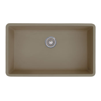 Blanco Single Sink : Blanco 441297 Precis Super Single Bowl Undermount Silgranit Kitchen ...