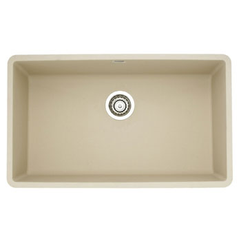 Silgranit Sink : ... Precis Super Single Bowl Undermount Silgranit Kitchen Sink - Biscotti