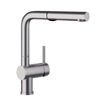 Blanco 441404 Linus Pullout with Dual Spray - Satin Nickel