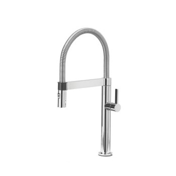 Blanco 441623 Culina Mini Pull Down Kitchen Faucet - Satin Nickel (Pictured in Chrome)