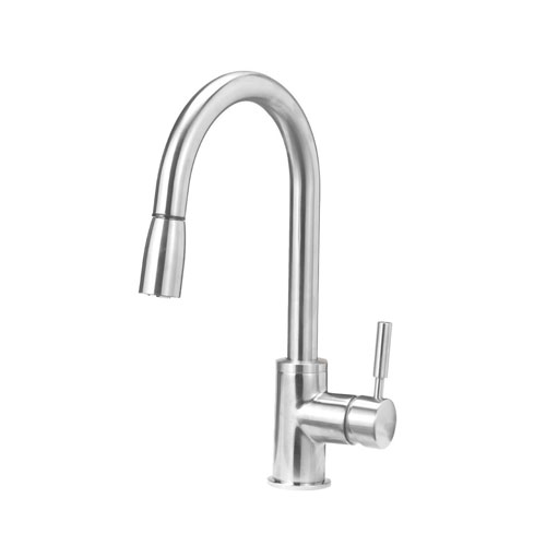 Blanco 441649 Sonoma 1.8 GPM Kitchen Faucet with Pull Down Spray - Stainless Steel