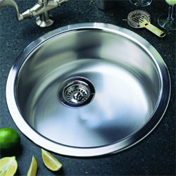 Blanco 513652 Rondo Drop-In Kitchen Sink - Stainless Steel