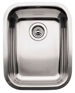 Blanco 440237 Blancosupreme Individual Undermount Kitchen Sink - Stainless Steel