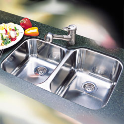 Blanco 440235 Blancosupreme 1-3/4 Bowl Undermount Kitchen Sink - Stainless Steel