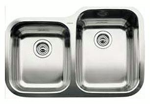 Blanco 440233 Blancosupreme 1-3/4 Bowl Undermount Kitchen Sink - Stainless Steel