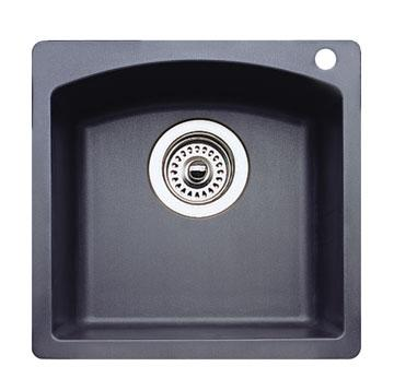 Blanco 440204 Diamond Silgranit II Bar Sink Dual Mount - Anthracite
