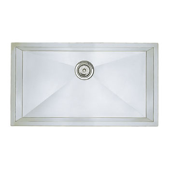 Blanco 515820 Precision 16'' Super Single Bowl Undermount Kitchen Sink - Satin