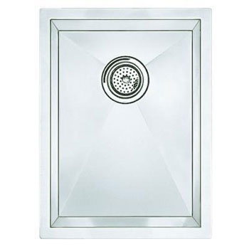Blanco 516208 Blancoprecision 16'' Medium Bowl (Vertical Orientation) - Satin
