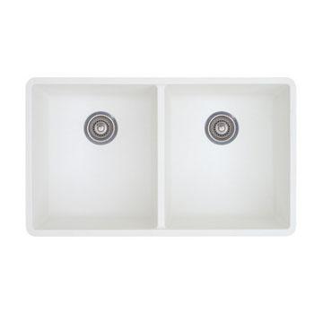 Blanco 516320 Precis 16 Equal Double Bowl Kitchen Sinks