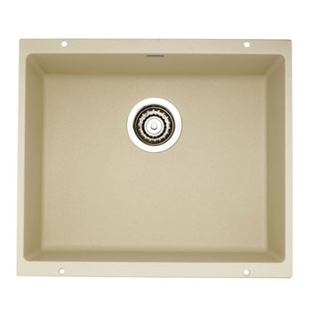 Blanco 517109 Precis Large Single Bowl Kitchen Sink - Biscotti
