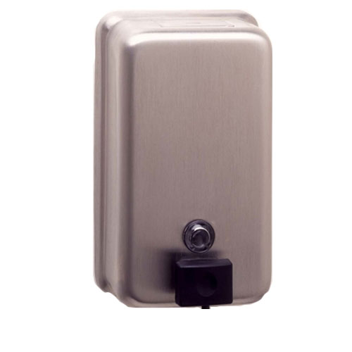 Bobrick B-2111 Classic Series Surface-Mounted Soap Dispenser - Satin