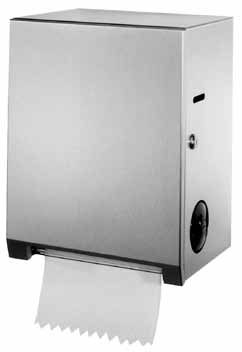 Bobrick B-2860 Surface-Mounted Roll Towel Dispenser - Satin