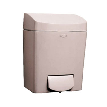 Bobrick B-5050 Matrix Series Surface-Mounted Soap Dispenser - Grey