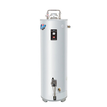Bradford White GX-1-55S6BN 55 Gallon 80,000 BTU Residential Atmospheric Vent High Performance Energy Saver Gas Water Heater