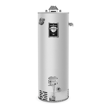Bradford White M-4-40T6FBN 40 Gallon 40,000 BTU Residential Atmospheric Vent High EF Energy Saver Gas Water Heater