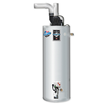 Bradford White PDX-50S-60B-3N 40 Gallon 60,000 BTU Commercial Light Duty Energy Saver Gas Power Direct Vent Water Heater
