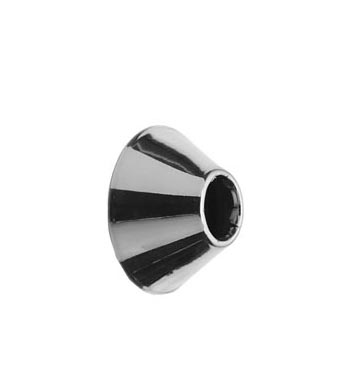 Brasstech 443 Supply Tubes - Oil Rubbed Bronze (Pictured in Polished Chrome)