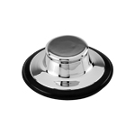 Brasstech 113-26D Garbage Disposer Stopper - Satin Chrome (Pictured in Polished Chrome)
