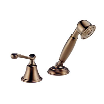 Brizo 6016-BZLHP Providence Belle Hand-Held Shower for Roman Tub - Brushed Bronze