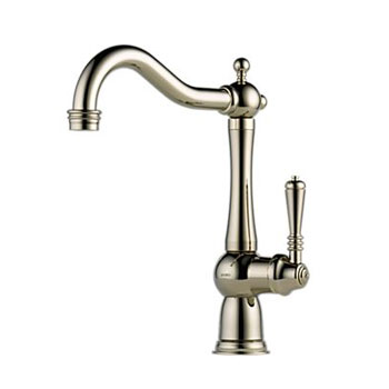 Brizo 61036LF-PN Tresa Single Handle Kitchen Faucet - Polished Nickel