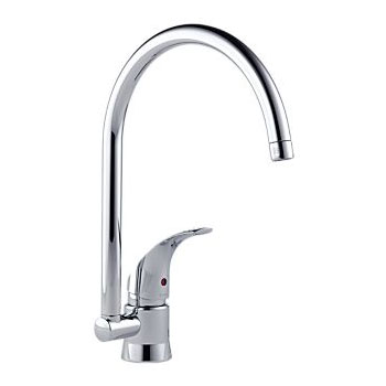 Brizo 6115080-PC Riviera Single Handle Kitchen Faucet - Chrome
