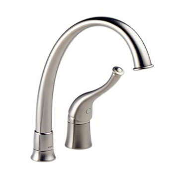 Brizo 61600-SS170 Providence Contemporary Single Handle Kitchen Faucet - Stainless